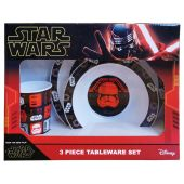 Star Wars Episode IX 3 Piece PP Gift Boxed Tableware Set - Pack of 3