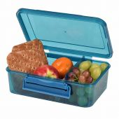 lunch box large blue clic tite polar gear